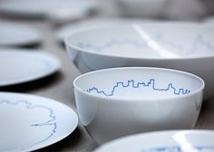 Big Cities tableware set for Rosenthal by BIG and Kilo Design.. LOVEEE!! <3
