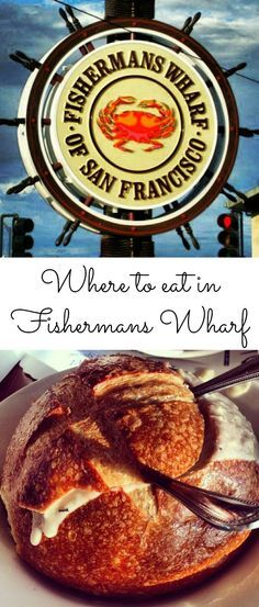 Where to eat in San Francisco's Fishermans Wharf...yummy! #food #travel #USA