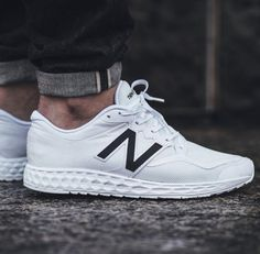 00da24f831e Trendy Sneakers 2018   Picture of New Balance Gives the a Clean White  Makeover
