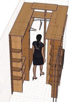 closet layout 497366352602383597 - 24 ideas bedroom wardrobe ideas layout Source by mischagreen Wardrobe Design Bedroom, Master Bedroom Closet, Bedroom Wardrobe, Wardrobe Closet, Wardrobe Ideas, Closet Ideas, Walk In Closet Design, Closet Designs, Closet Behind Bed