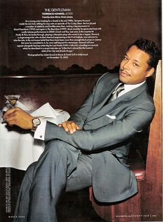 terrence howard...I'll dine with U