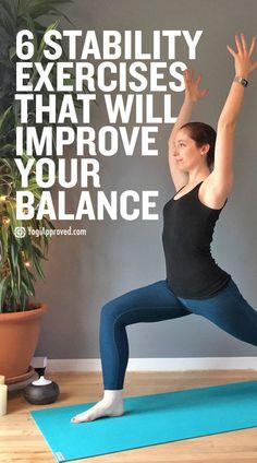 15 balance exercises for seniors  workouts  pinterest