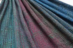 Lenesha Starling crackle weave dark green tsumugi silk weft Wrap (tsumugi silk) - About Wrap | Reviews, FSOT