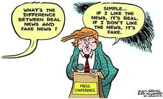 The Trump Alternate Universe: His Take on Real Vs. Fake News