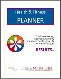 Free Diet and Workout Planner