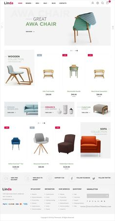 Linda is a wonderful multi-store responsive #Magento 2 theme for #furniture #shop stunning #eCommerce website with 20+ multipurpose homepage layouts download now➩ https://themeforest.net/item/linda-multi-store-responsive-magento-2-themes/19399257?ref=Datasata