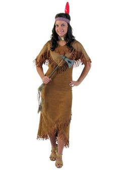 Deluxe Native American Indian Instant Costume Kit