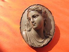 Cameo Jewelry, Pocket Watches, Victorian Jewelry, Ancient Rome, Lockets, Ruby Lane, Carnelian, Lava, Art Nouveau