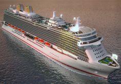 The P&O Britannia Cruise Ship