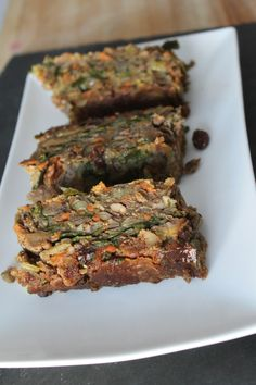 vegan lentil loaf. Jenn's notes: a hit among those who aren't vegan! Served with roasted garlic mashed potatoes/ mushroom gravy and a veggie (asparagus, broccoli, etc)