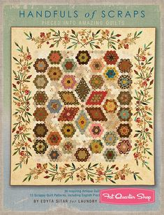 Handfuls of Scraps Signed Quilt Book<BR>Laundry Basket Quilts