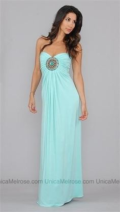 Sky mint maxi dress by Jillianne Athena