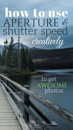 Photography tips for shutter speed and creativity. Aperture and Shutter Speed do much more than just correctly expose your photos. If used creatively, they can produce some awesome effects! Dslr Photography Tips, Landscape Photography Tips, Photography Tips For Beginners, Photography Lessons, Photography Equipment, Photography Tutorials, Digital Photography, Photography Awards, Exposure Photography