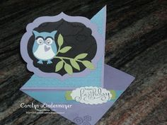 Carolyn's Card Creations: Owl Builder Punch