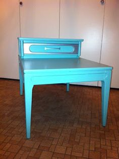 Painted Angles - Retro End Table