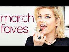 March Faves - Erborian Aveda NARS Illamasqua - YouTube