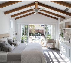 Wooden beams and so much character!
