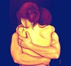 Si tienes la suerte de ser abrazado por alguien,tendrás una sensación muy placentera gracias al e...