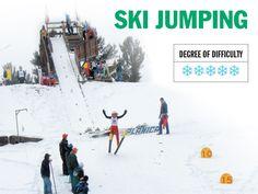 ski jumping in Fox River Grove... how fun!