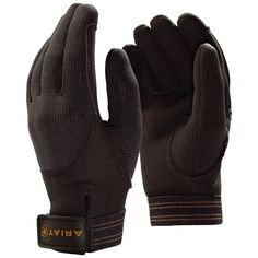 Designed to accommodate the demands of the sport, Ariat gloves set a new standard in performance.They are constructed with Polartec® Wind Pro ® ...