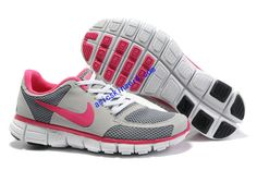 I just like this Hot Punch Nikes Neon Pink Nike Free 7.0 V2 White Smoke Grey Pink