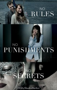 """This time no rules, no punishments and no more secrets."" 