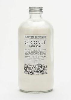 Herbivore botanicals organic coconut bath soak—perfect for hydrating skin. Organic Coconut Milk, Coconut Milk Powder, Vanilla Oil, Bath Soak, Organic Beauty, Natural Beauty, Clean Beauty, Beauty Care, Google