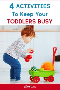 With all the extra time we have at home with shelter in place it can be harder than ever to come up with new ways to entertain your toddlers. So were here to help!If youre wondering how to keep toddlers busy here are 4 fun activity ideas. Art Activities For Toddlers, Learning Toys For Toddlers, Summer Activities For Kids, Toddler Learning, Creative Activities, Toddler Preschool, Summer Kids, Fun Activities, Kids Playing