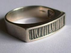 STERLING SILVER RING BY OLA GORIE SUITABLE FOR MEN OR WOMEN SCOTTISH SIZE Z | eBay