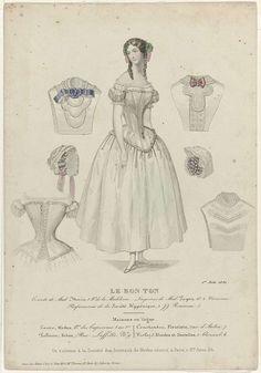 Le Bon Ton, 1 juin 1850 : Corsets de Mad Morin..., Anonymous, 1850