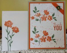 Stampin' Up! Painted Petals stamp set