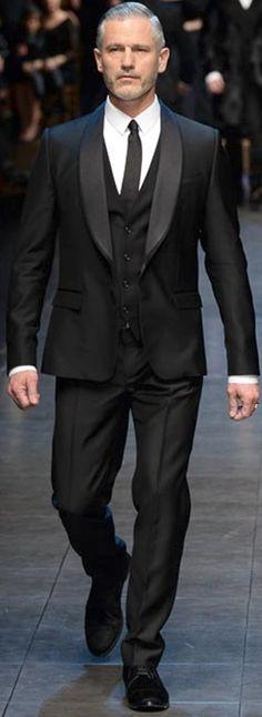 Dolce & Gabbana Fall 2015 Menswear - Bob Trotta is a high end, men's fashion…