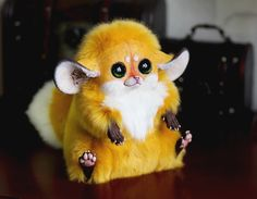Inari Gold Fox From Deviant Art By The Amazing Santani!! Will Be Purchasing Soon :p