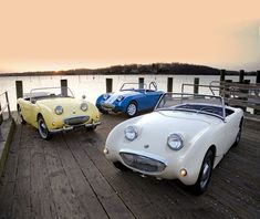 Behind the scenes: How three Austin-Healey Sprites made th | Hemmings Daily