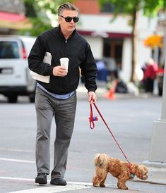 We just want to say happy Father's Day to all the dog dads out there. We want to honor the guys who take good care of the pups they love all year long. Every dog dad deserves to be treated like a celebrity for a day. #dogtime #fathersday #celebritydog #AlecBaldwin Celebrity Dogs, Celebrity Pictures, Celebrity Crush, Fathers Day Pictures, Dog Pictures, People's Friend, Mans Best Friend, Funny Dogs, Cute Dogs