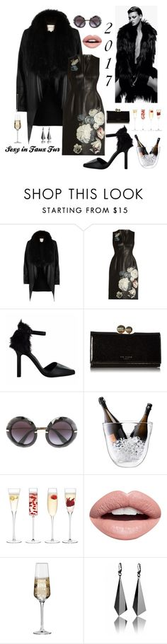 """""""Ringing in the NEW YEAR 🎉🎉🎉"""" by kotnourka ❤ liked on Polyvore featuring River Island, Alexander McQueen, Senso, Ted Baker, Dolce&Gabbana, LSA International, Nevermind and Krosno"""