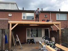 Overkapping met lichtkoepel - Overkapping Specialist Brabant Pergola Patio, Building, Garden, Outdoors, Home, Terrace, Balcony, Garten, Outdoor