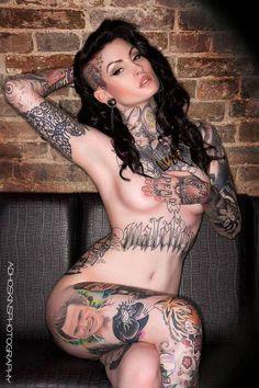 Tangy tattooed tart #SchoolGirlTart