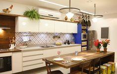 Cozinha de Marcelo Possidonio e Bianca Gatto/ Foto de Simone Marinho