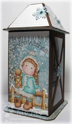 Stempeleinmaleins: Laternen Geschenkbox/latern gift box