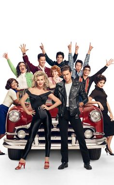 Who's excited for Grease Live? Because the cast sure is in the latest promo pics for Fox's very f...