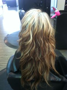 What I want my hair to look like once it grows out!