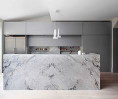 Many kitchens offer white, wood, and chrome features. What many don't boast is a touch of marble. Indicative of the luxurious and uber-sophisticated, marble i