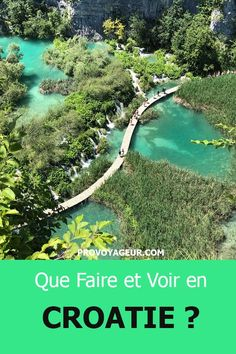 That faire et voir in Croatie lors d& voyage d& semaine. Places To Travel, Places To See, Travel Destinations, Greece Travel, Thailand Travel, Paris Travel, Travel Usa, Montezuma, Monteverde