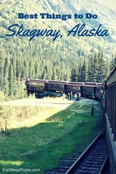 Top Things to Do Skagway, Alaska. Lots of organized and independent cruise excursion ideas in this article. Updated for Top Things to Do in Skagway Alaska on a Cruise. See our editors' picks for the top tours and excursions in Skagway Alaska on a cruise. Cruise Travel, Cruise Vacation, Vacation Spots, Travel Usa, Disney Cruise, Travel Tips, Vacation Ideas, Travel Ideas, Vacation Wishes