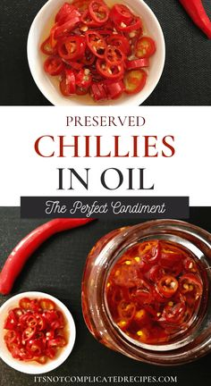 Garden Flowers - Annuals Or Perennials Preserved Chillies In Oil Chilli Recipes, Canning Recipes, Real Food Recipes, Vegan Recipes, Hot Pepper Recipes, Rub Recipes, Savoury Recipes, Delicious Recipes, Kefir