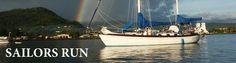 "Solo Circumnavigation:  Jeff Hartjoy - 40-ft Baba Ketch ""Sailors Run"" a Robert Perry Design http://sailorsrun.com/ also on http://forums.sailinganarchy.com/index.php?showtopic=170661#entry5217597"