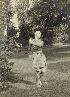 Vaslav Nijinsky dans la Danse Siamoise