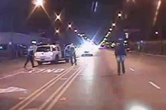 """Video of Laquan McDonald's Killing Released as Chicago Braces for Protests 11.24.15 - Authorities have released a """"disturbing"""" dashcam video of the moment a cop shot Chicago teen Laquan McDonald 16 times last year."""