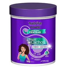 Novex Haircare My Curls Super Curly Leave in Conditioner, 35 oz.  Recommended to style all types of curly hair  For all hair types  It can be use to refresh, style or detangle your curls.  Sulfate and Paraben FREE  Enriched with the Ojon Oil and Monoi Oil